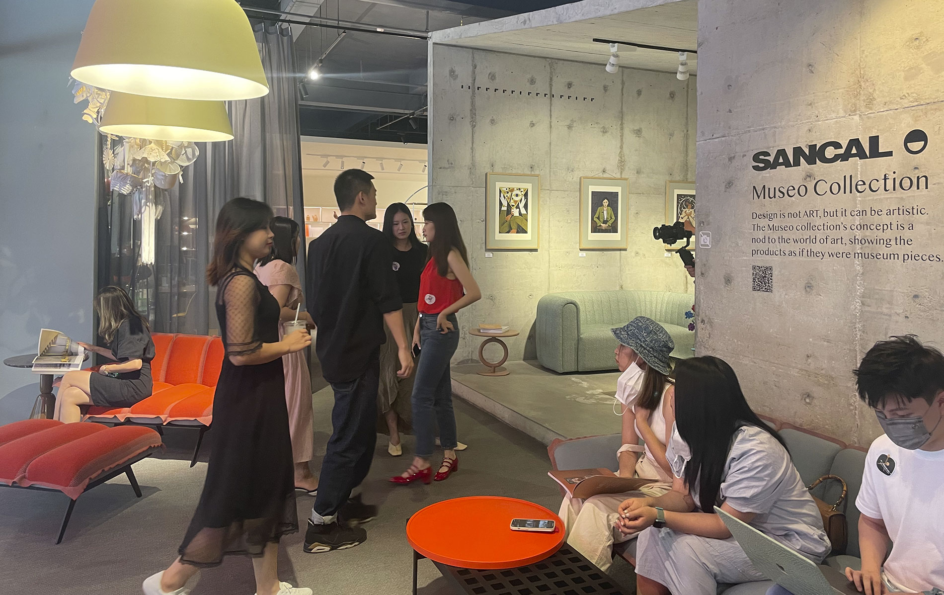 Museo Collection Experience in PP Design Gallery