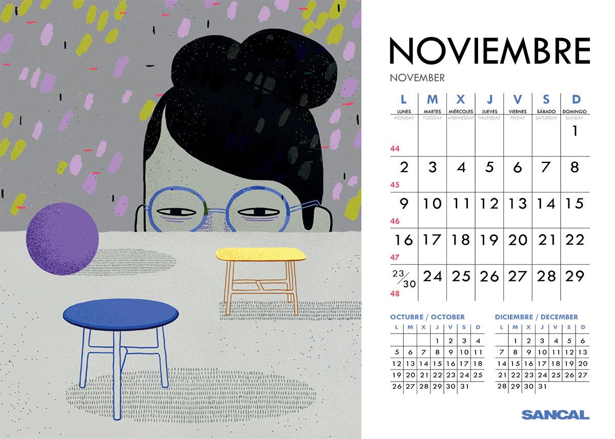 sancal calendar november 2015
