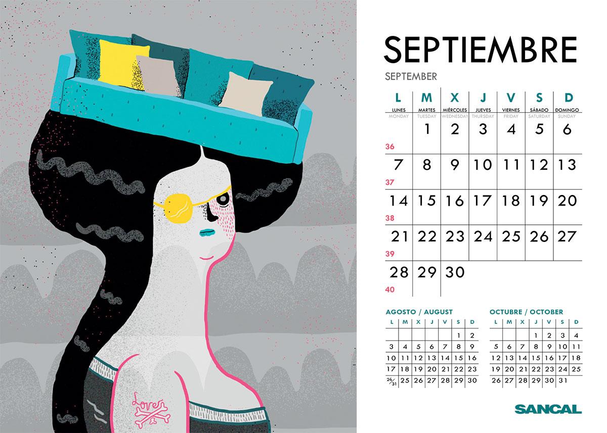 sancal calendar september 2015