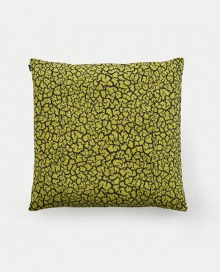 Rift Cushion 66x66 Yellow