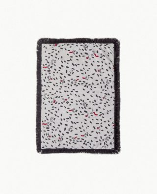 Tápame Mucho S Wild Dots - Black fringes