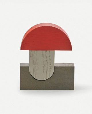 Icons ornamental wooden blocks Fly Agaric
