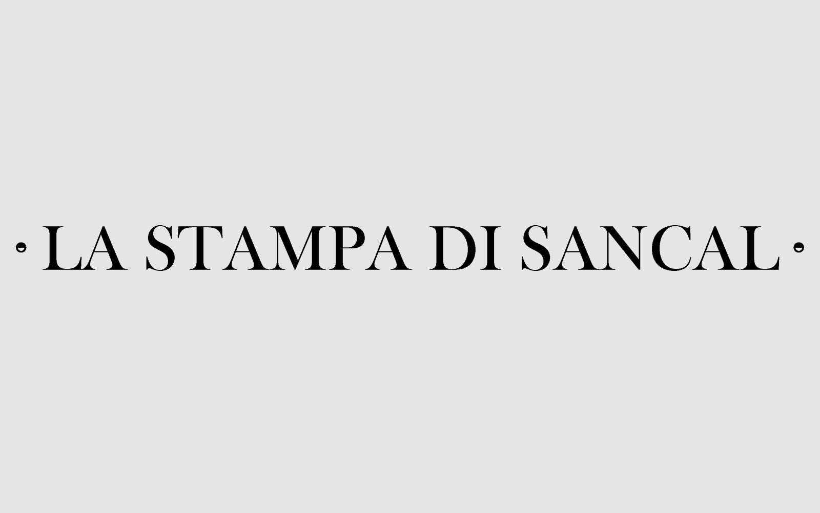 La Stampa di Sancal