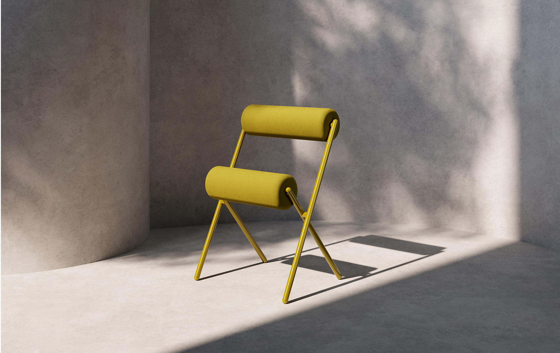 Roll, the brand-new chair by MUT for Sancal.