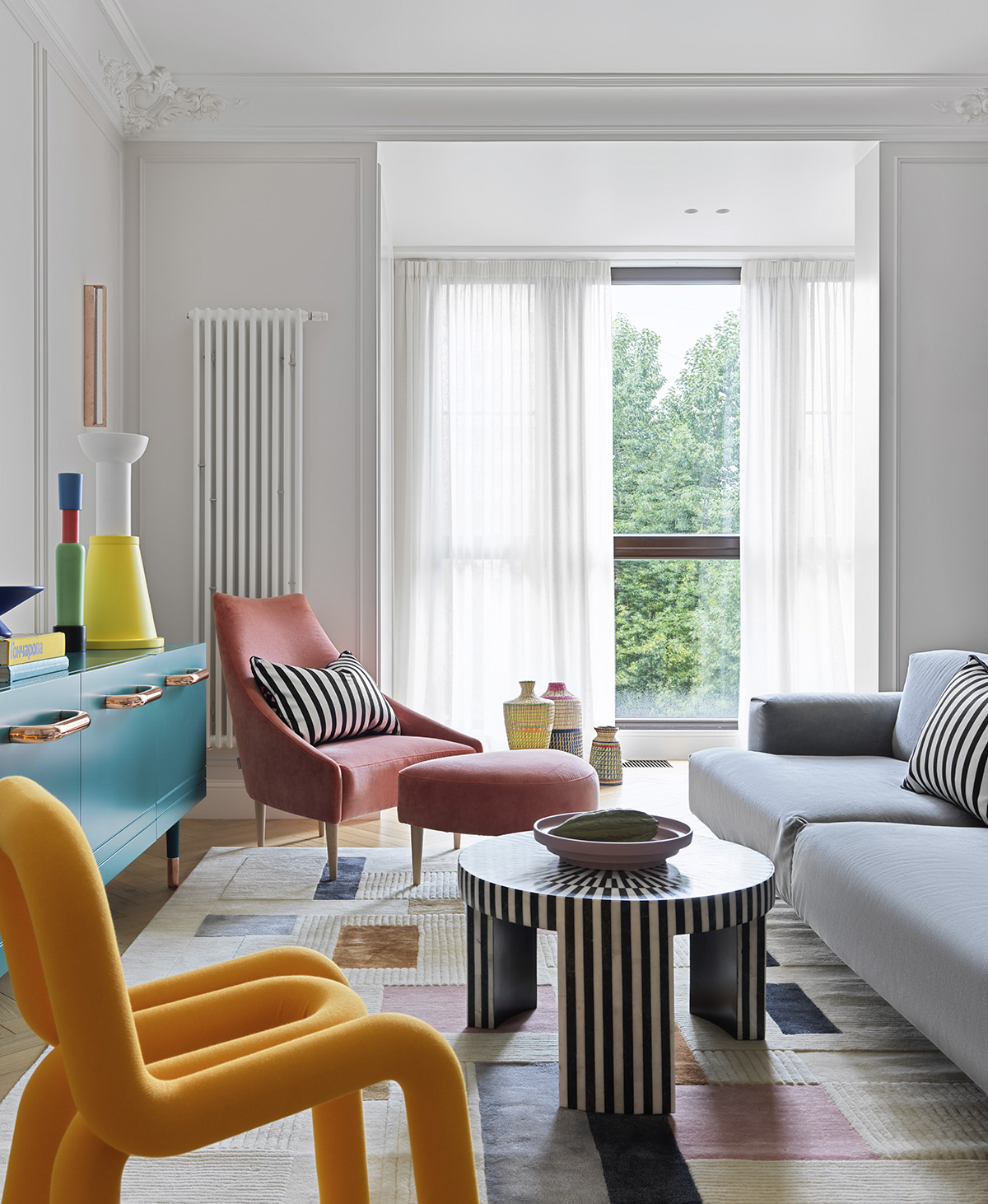Apartamento parisino en Moscú