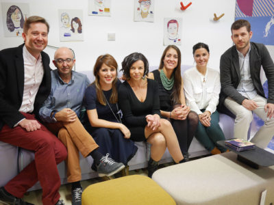 Houzz and Sancal in Madrid: a potent mix